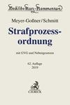 Strafprozessordnung. StPO. antiquarische Ausgabe